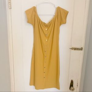 Marigold Mini Dress